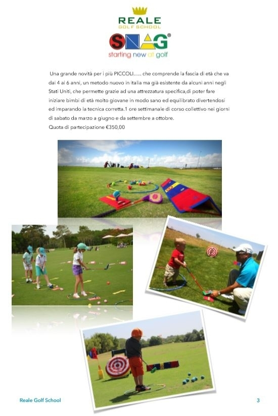 - Golf School by Andrea Reale